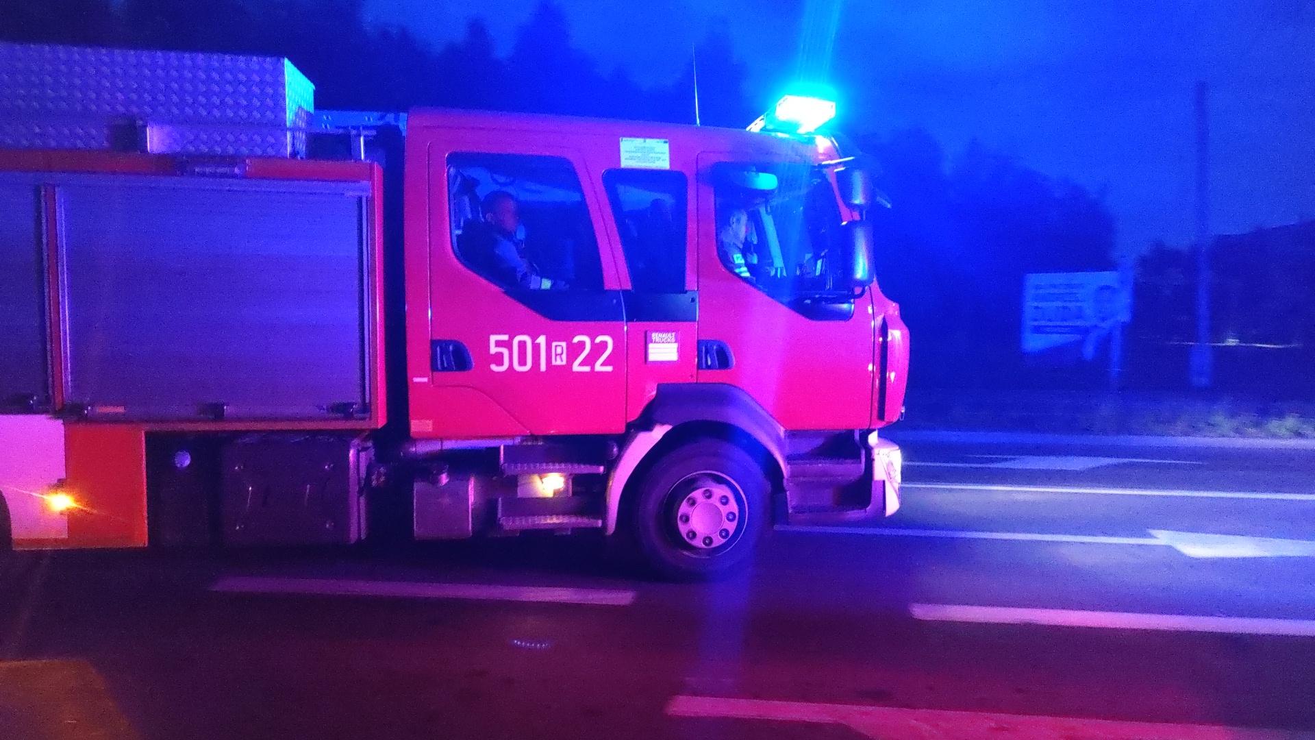 Strażacy interweniowali w Chorzelowie  - Zdjęcie główne
