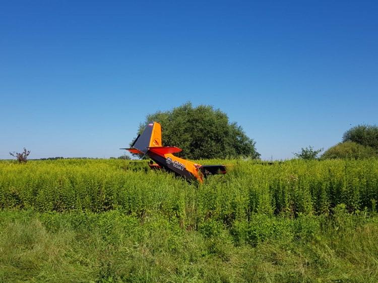 Region. Wypadek samolotu pod Tarnowem - Zdjęcie główne