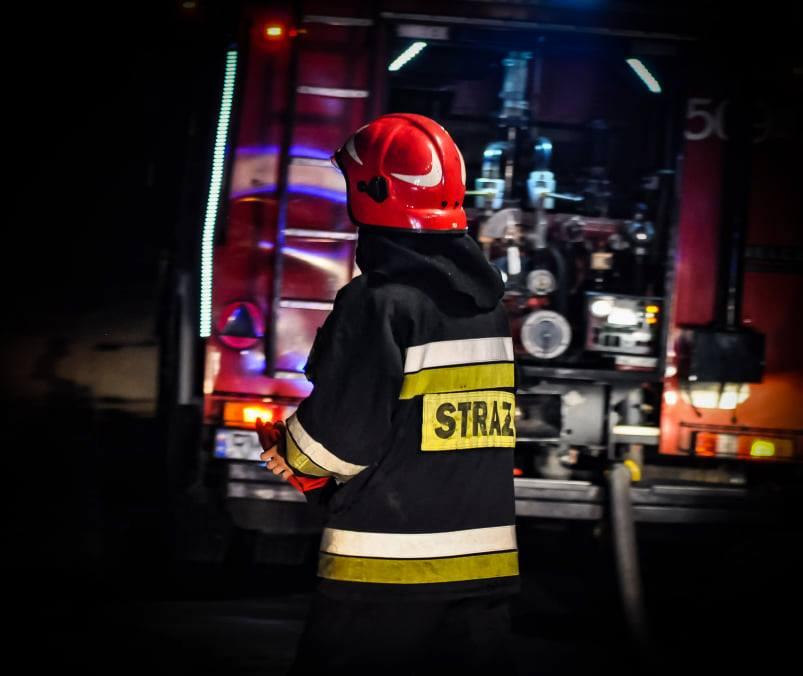 Nocna interwencja strażaków w Partyni - Zdjęcie główne
