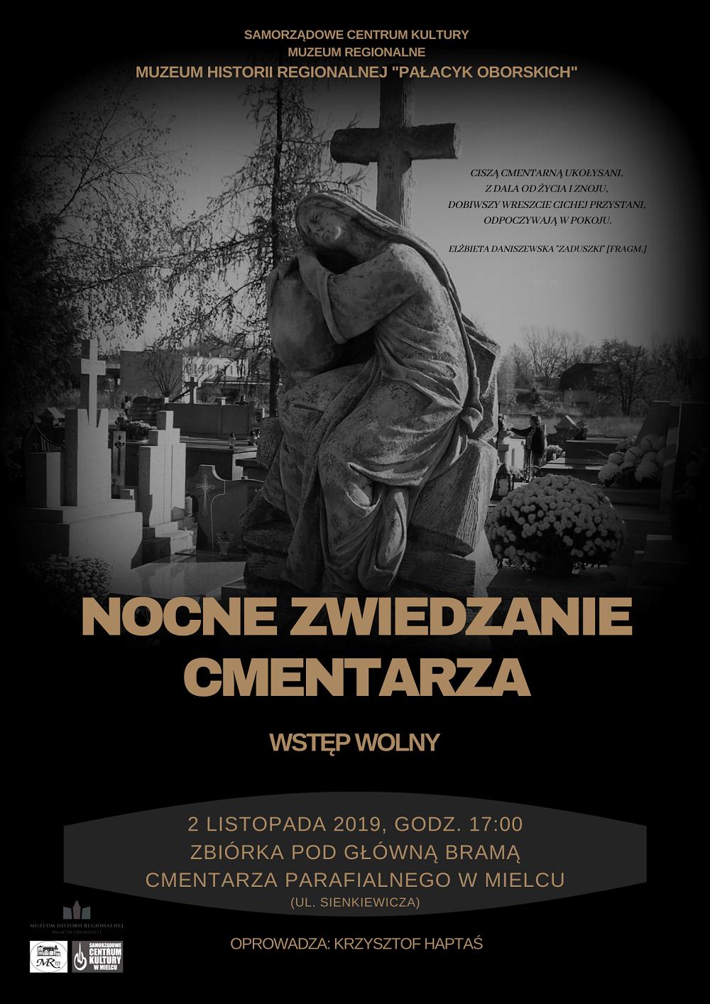 Nocą po cmentarzu - Zdjęcie główne