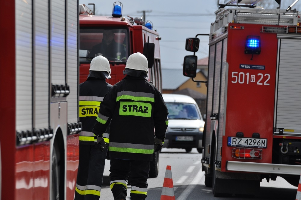 Strażacy odwiedzają w domach mieszkańców! - Zdjęcie główne