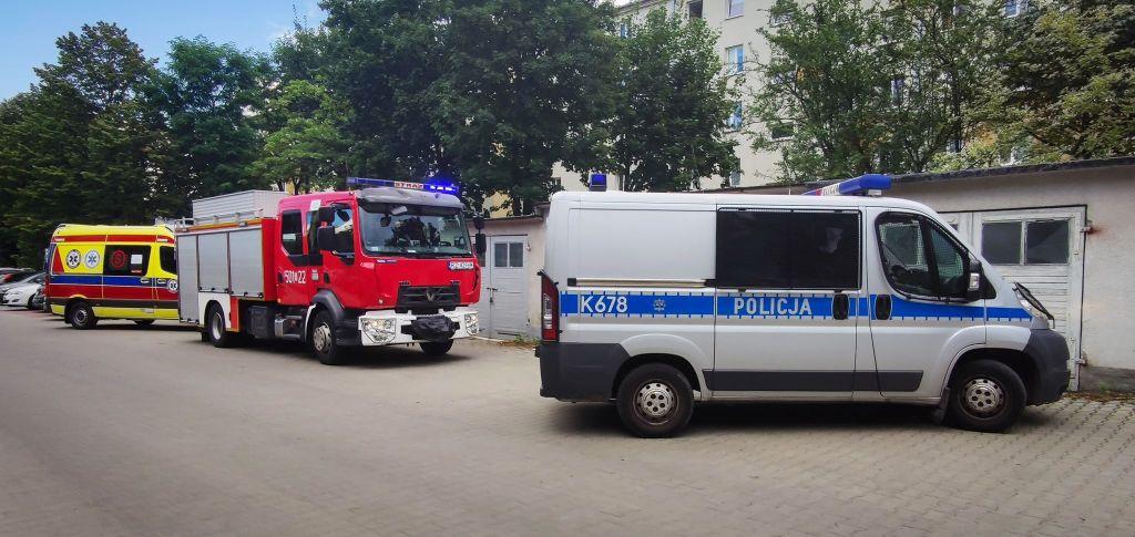 Interwencja służb przy ul. Kusocińskiego! [FOTO, VIDEO] - Zdjęcie główne