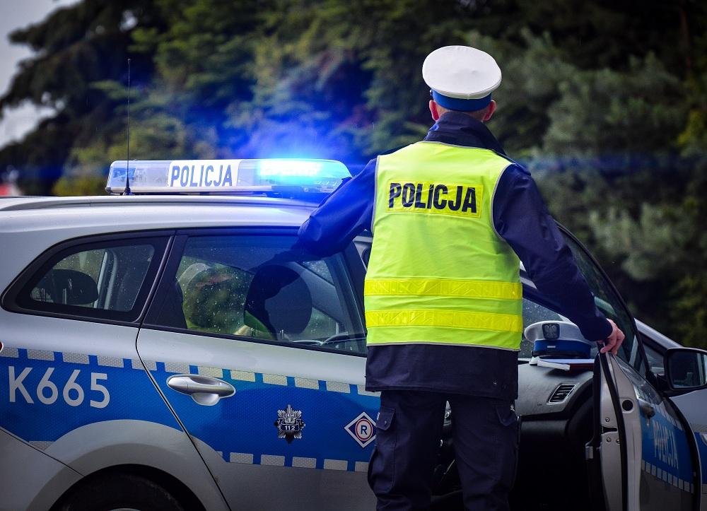 Wypadek na drodze Mielec - Dębica!  - Zdjęcie główne