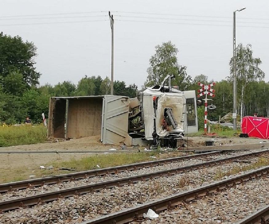 Region. Tragiczny wypadek na przejeździe kolejowym - Zdjęcie główne