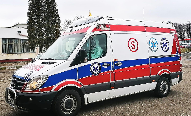 Dodatkowy ambulans z załogą w Padwi Narodowej - Zdjęcie główne