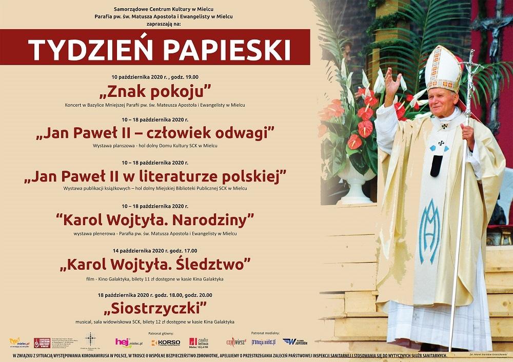 Zbliża się dzień papieski. W Mielcu szereg wydarzeń kulturalnych [PROGRAM] - Zdjęcie główne