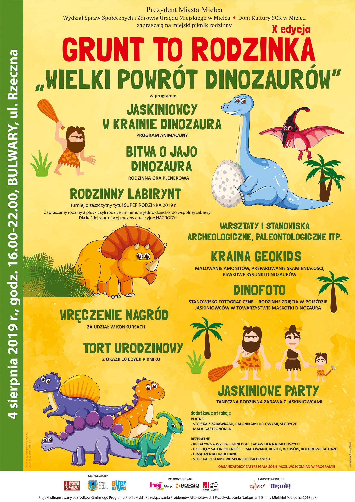 Dinozaury powracają do Mielca - Zdjęcie główne