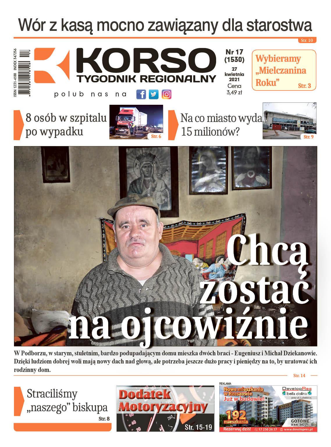 Tygodnik Regionalny KORSO nr 17/2021 - Zdjęcie główne