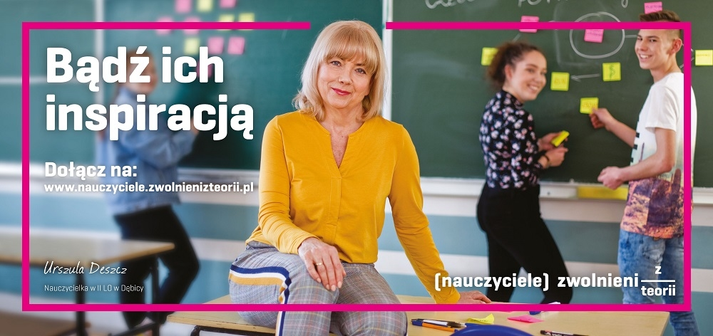 Nauczycielka z Dębicy bohaterką ogólnopolskiej kampanii - Zdjęcie główne