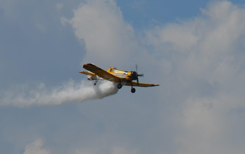 Pożar lasu, samolot gaśniczy w akcji! - Zdjęcie główne