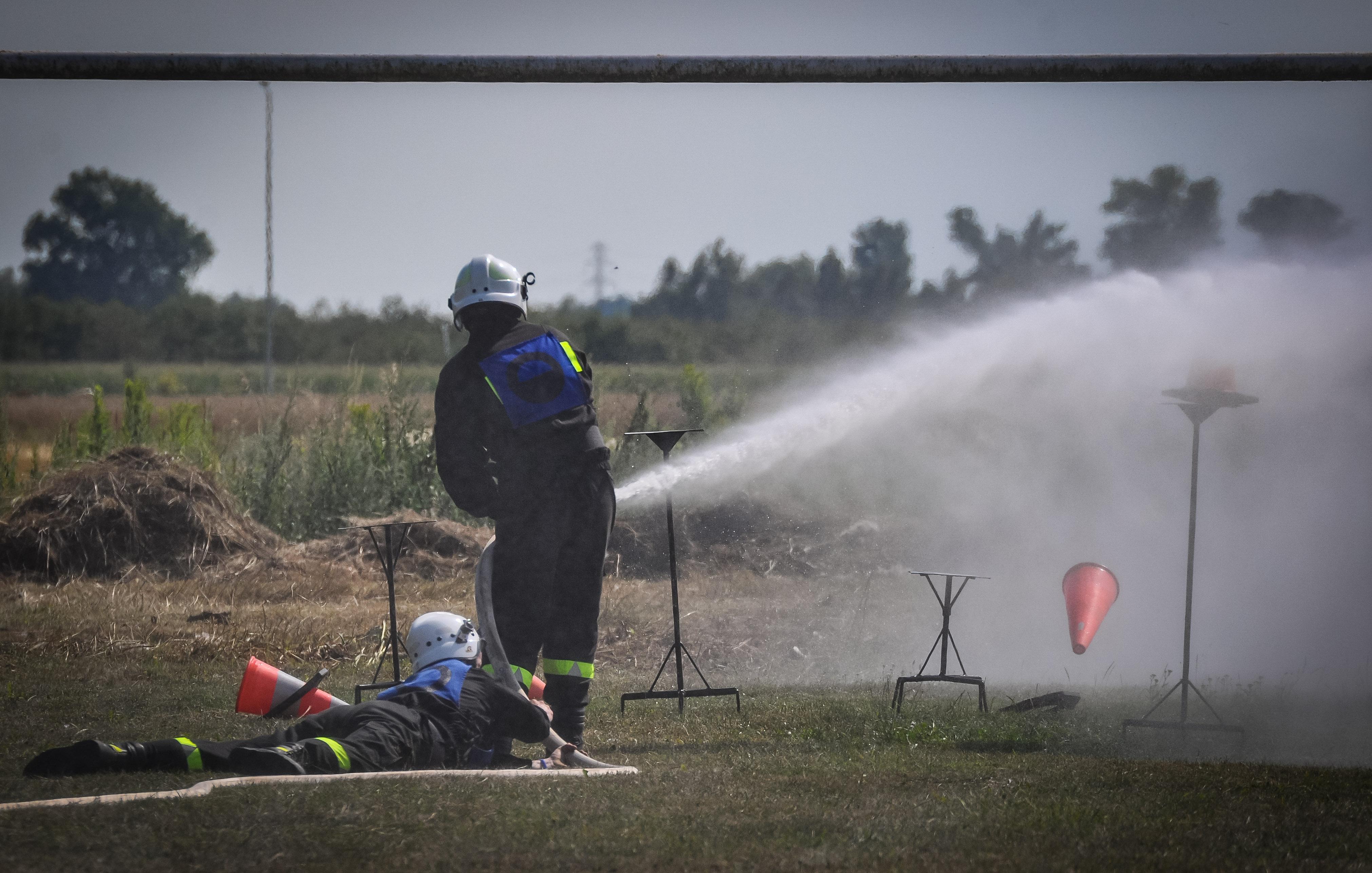 Strażacy rywalizowali w Gawłuszowicach [FOTO] - Zdjęcie główne