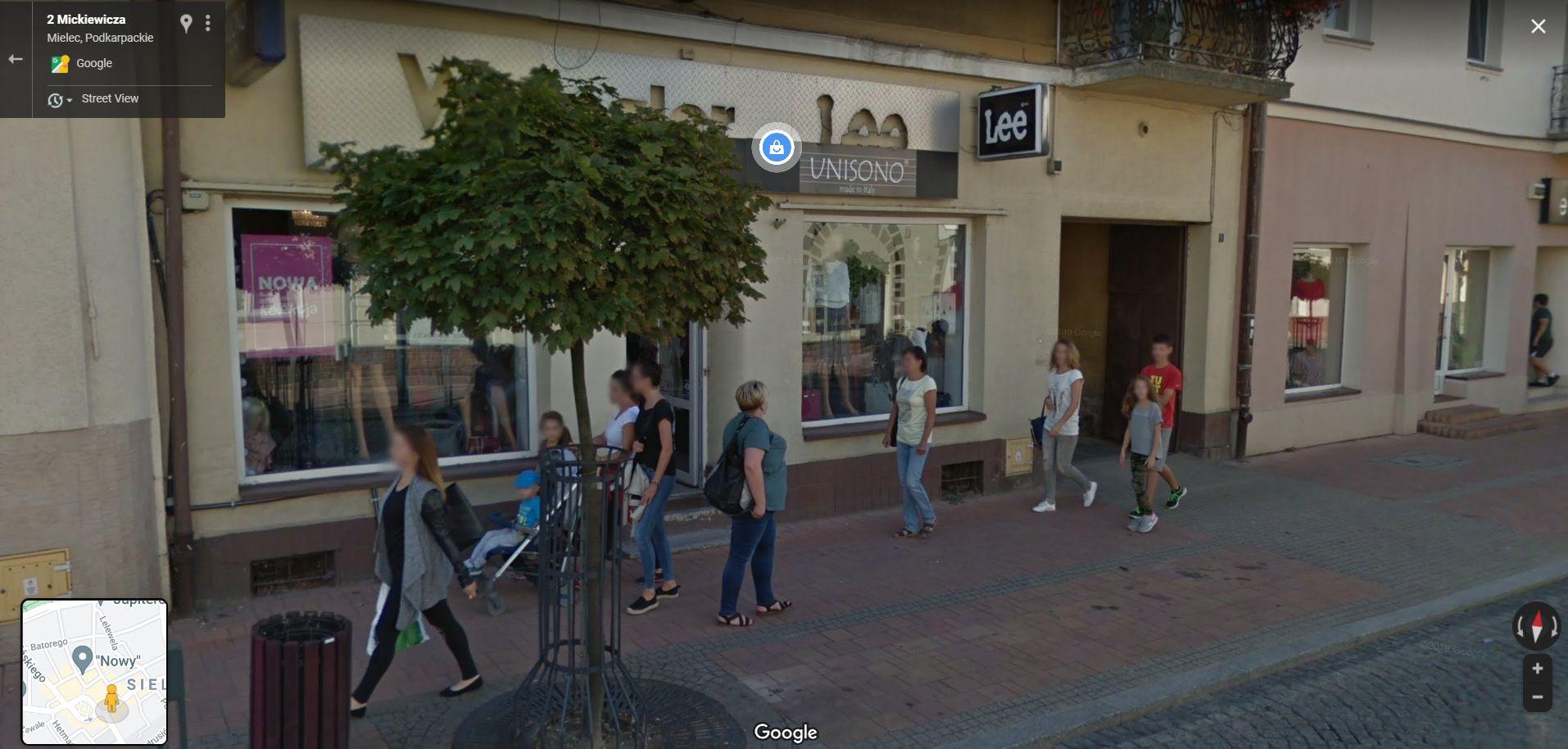 Przyłapani przez kamerę Google Street View. Zobacz zdjęcia z Mielca - Zdjęcie główne