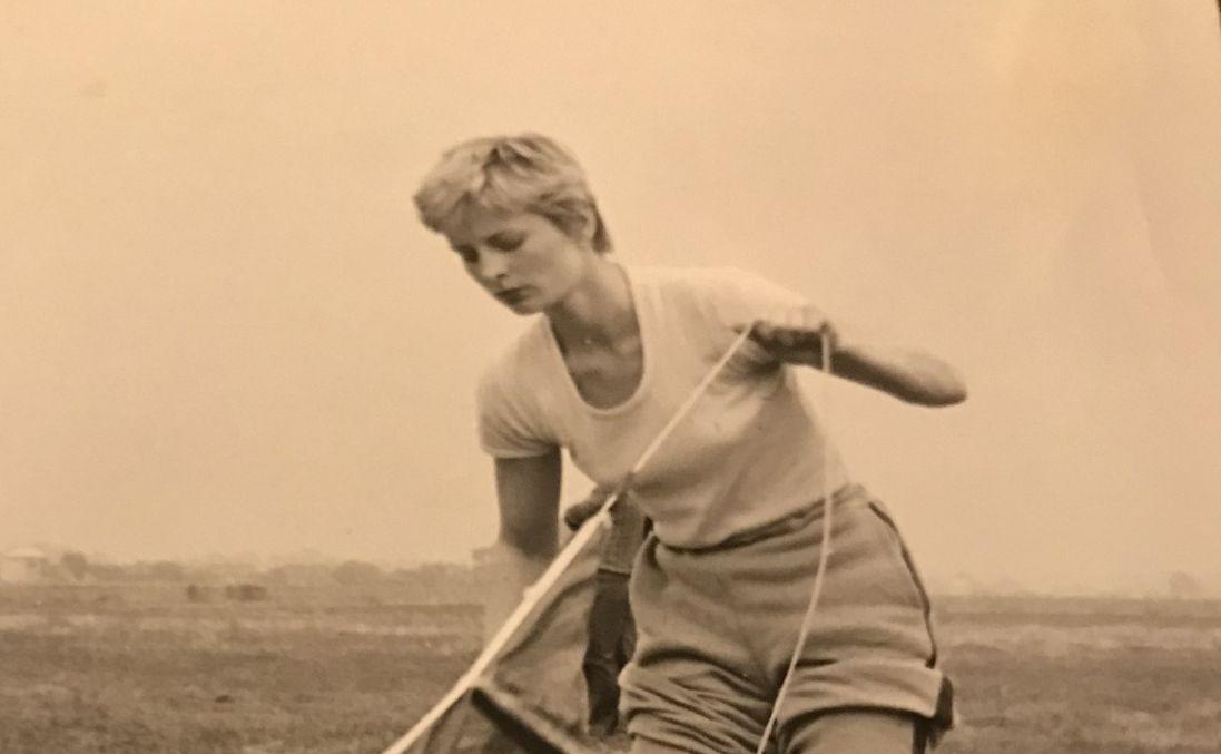 Halina Starzec-Kardyś. Kobieta ze spadochronem  - Zdjęcie główne