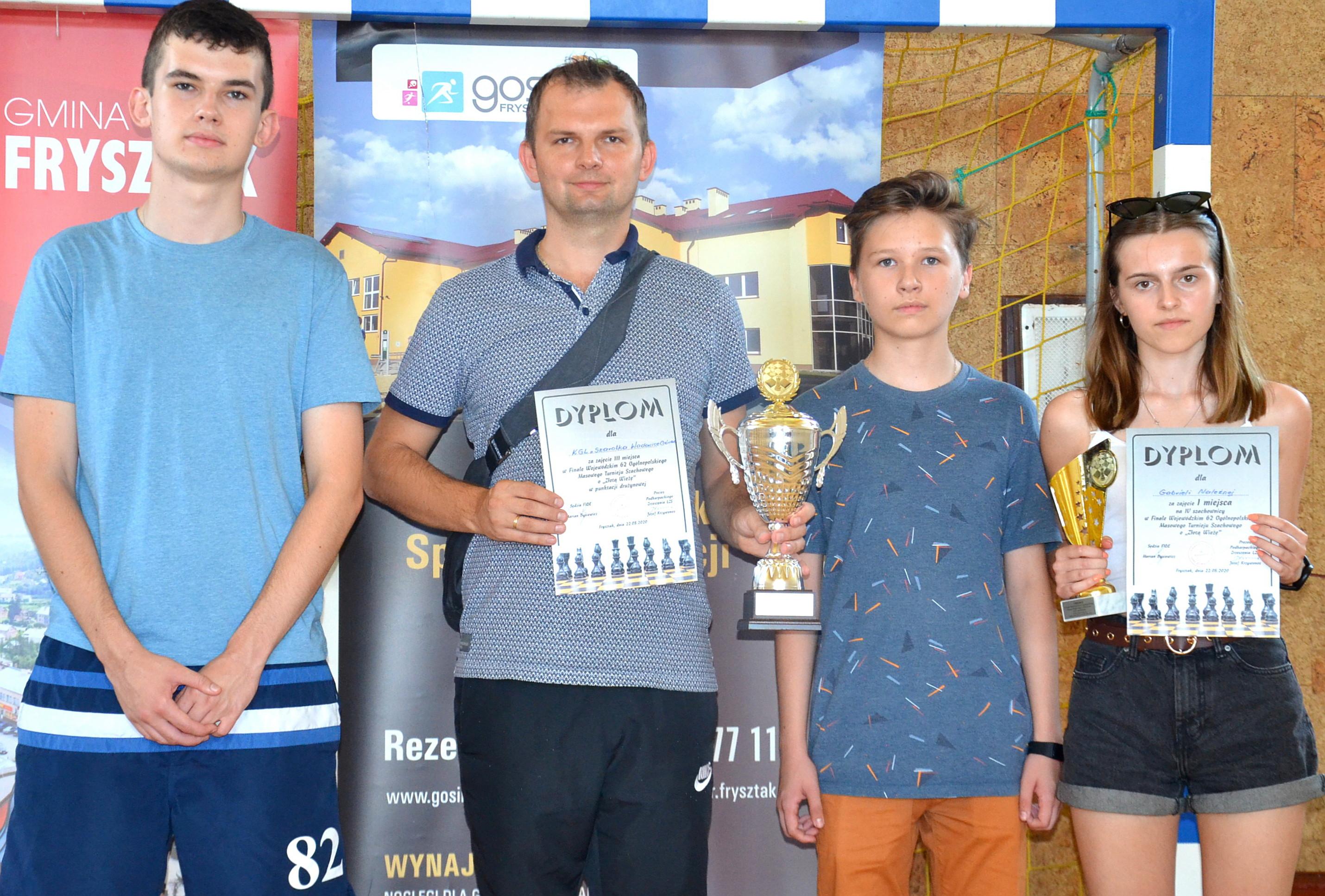 Miejsce na podium. Znakomity występ szachistów z Wadowic Górnych  - Zdjęcie główne