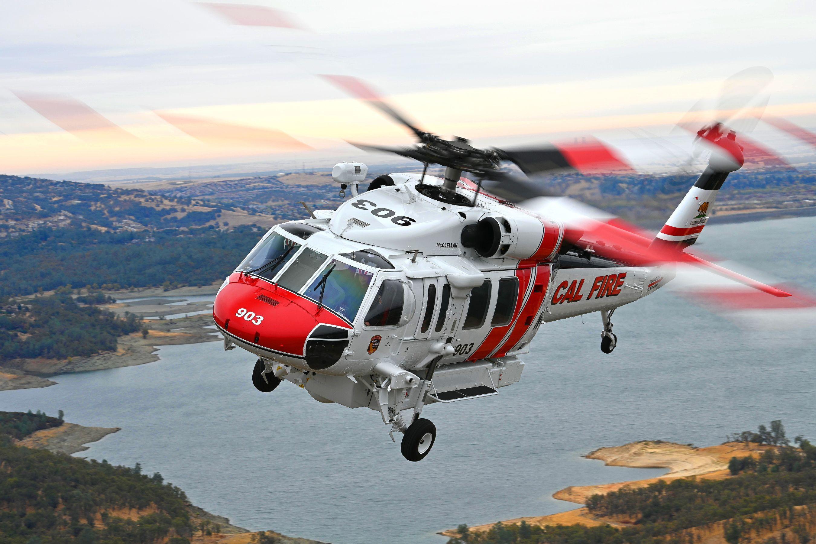 Black Hawki z Mielca będą walczyć z pożarami w USA [WIDEO] - Zdjęcie główne