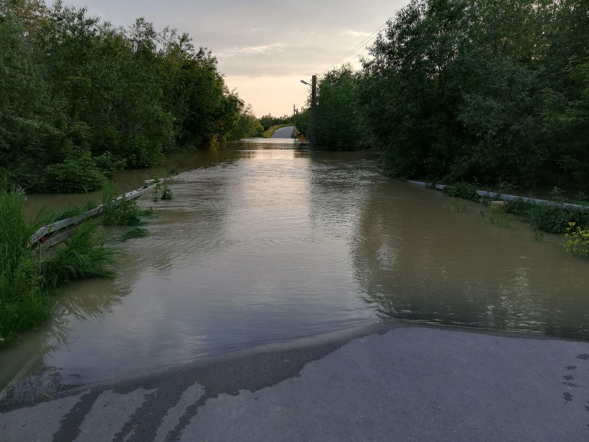 Raport akcji powodziowej: Na południu Podkarpacia sytuacja już ustabilizowana - Zdjęcie główne