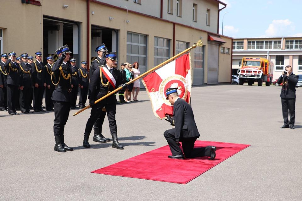 Mieleccy strażacy żegnają swojego komendanta [FOTO] - Zdjęcie główne