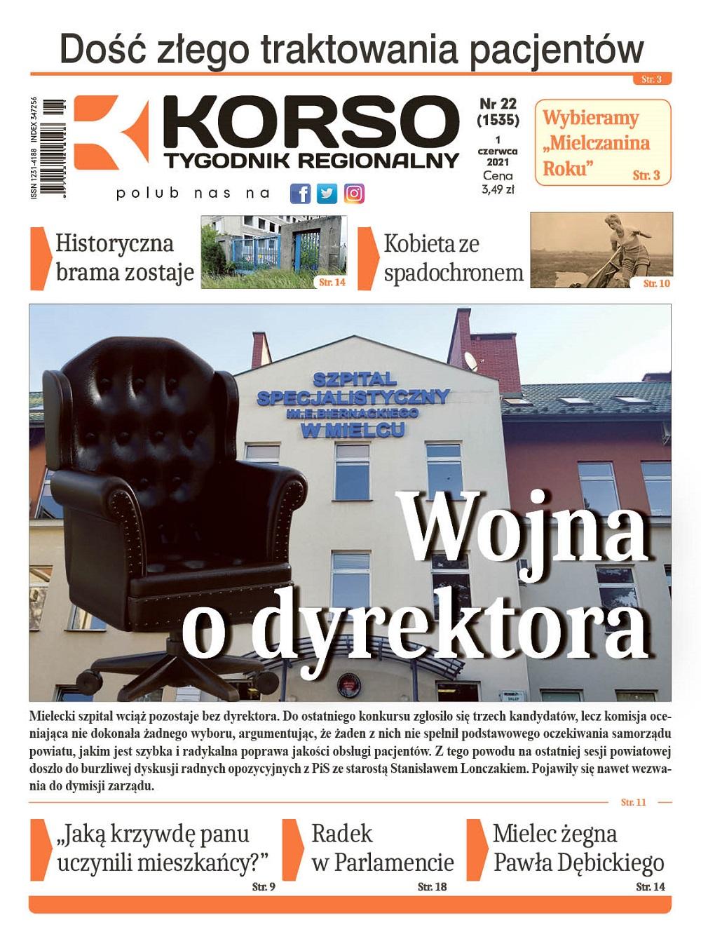 Tygodnik Regionalny KORSO nr 22/2021 - Zdjęcie główne