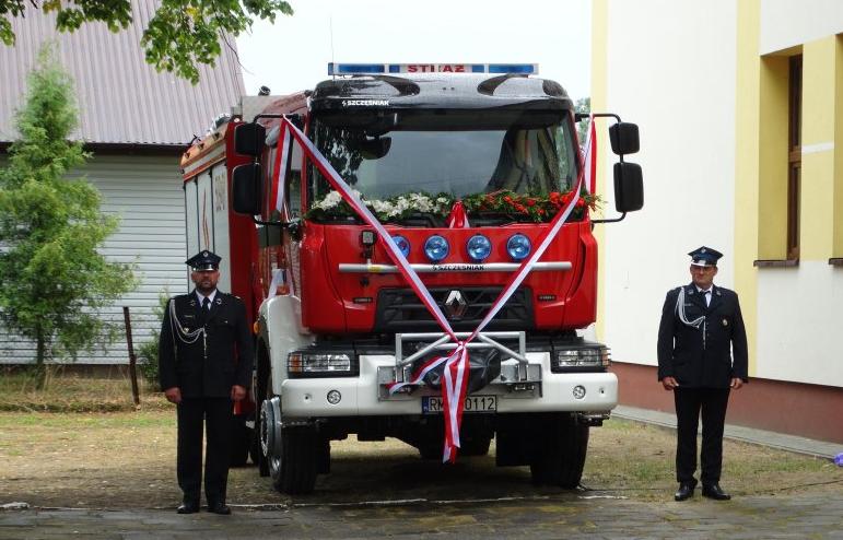 Strażackie świętowanie i nowy samochód dla OSP Jaślany - Zdjęcie główne
