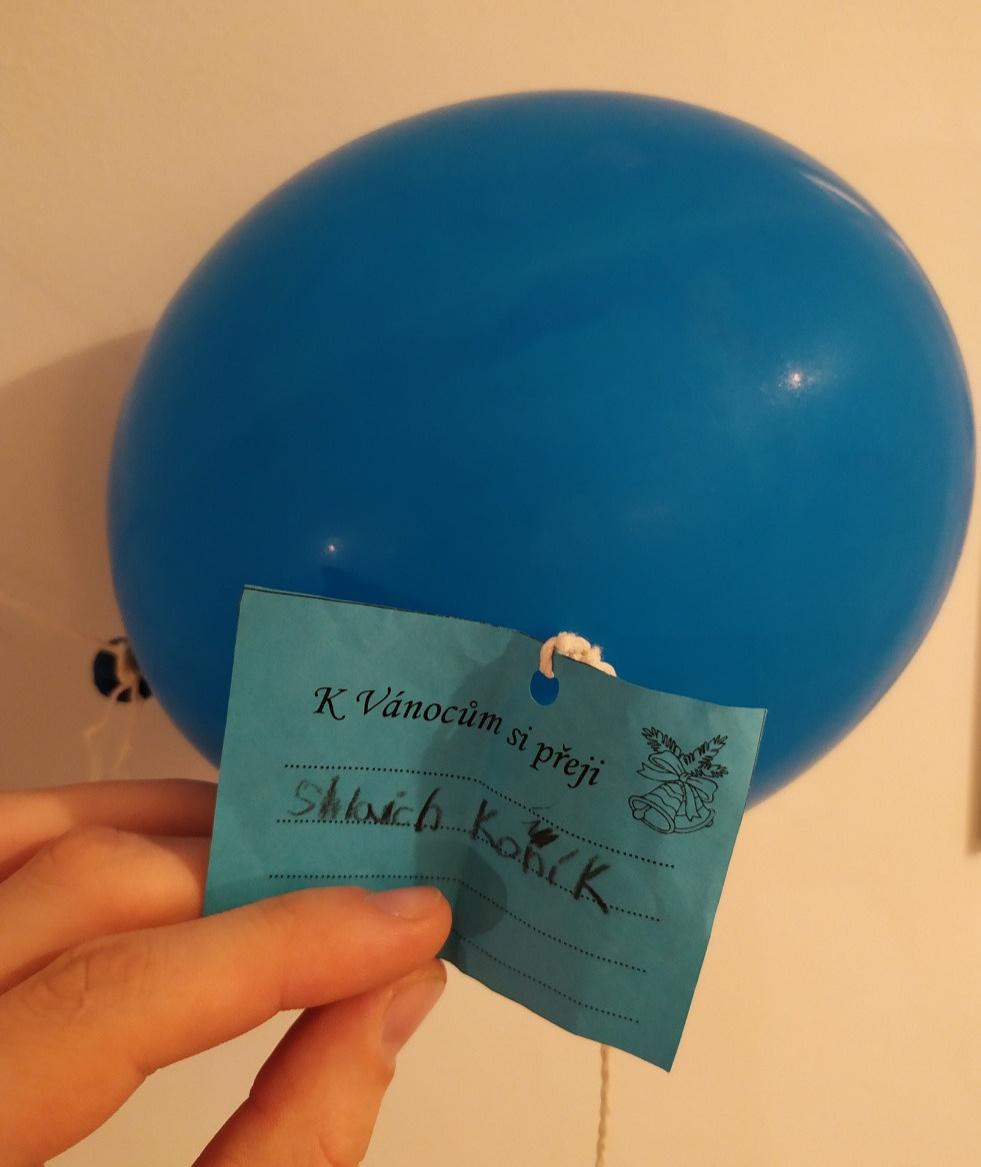 List do św. Mikołaja doczepiony do balonu doleciał z Czech do Kolbuszowej - Zdjęcie główne