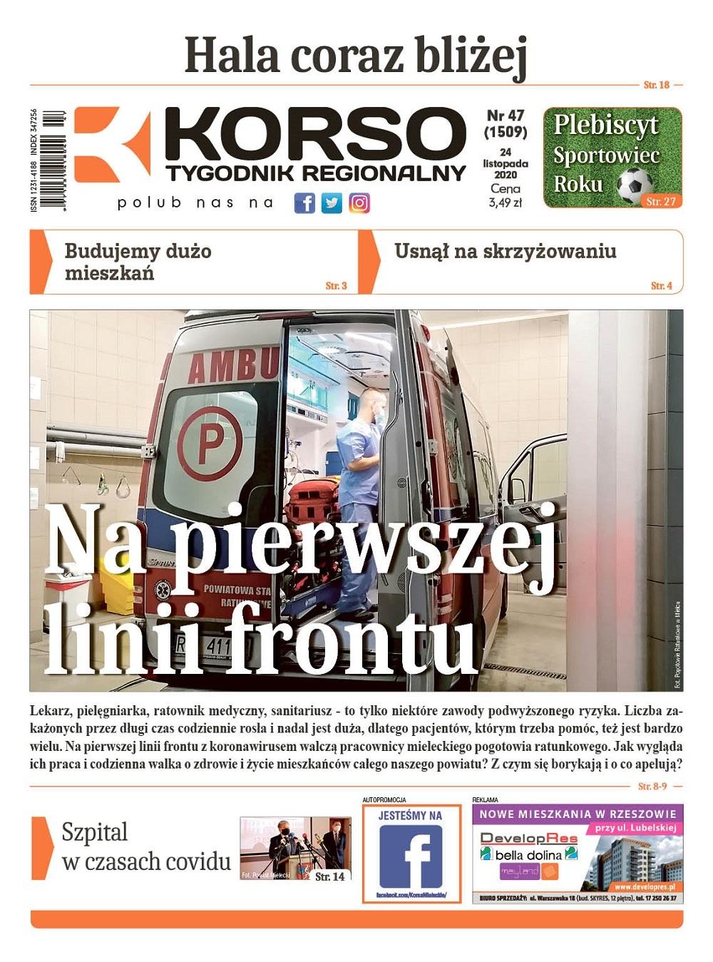 Tygodnik Regionalny KORSO nr 47/2020 - Zdjęcie główne