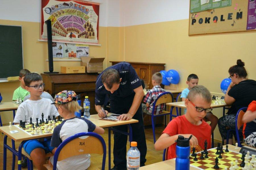 Dziecięcy turniej szachowy - Zdjęcie główne