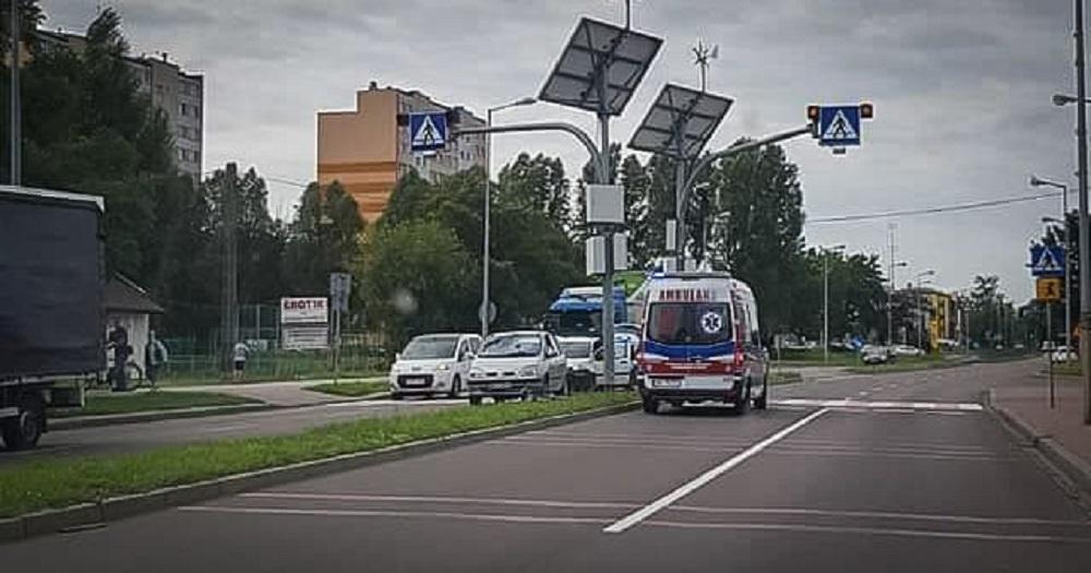 Potrącenie rowerzysty na ul. Sienkiewicza! - Zdjęcie główne