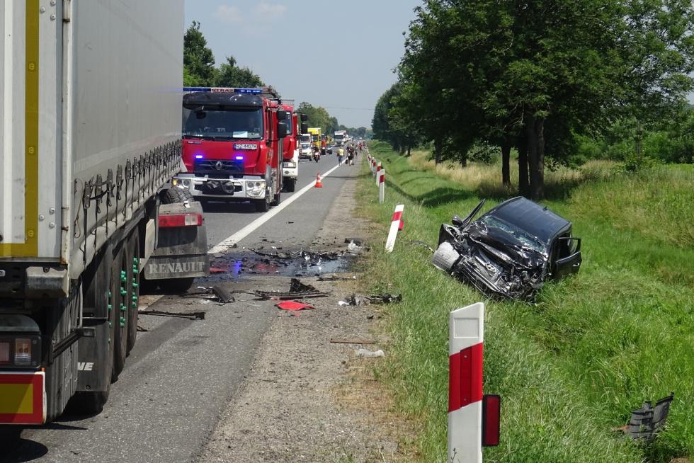 Nie żyje poszkodowany we wczorajszym wypadku - Zdjęcie główne