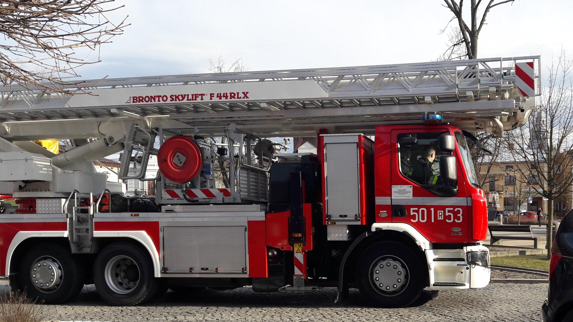Strażacy gaszą pożar tartaku! [FOTO, VIDEO] - Zdjęcie główne