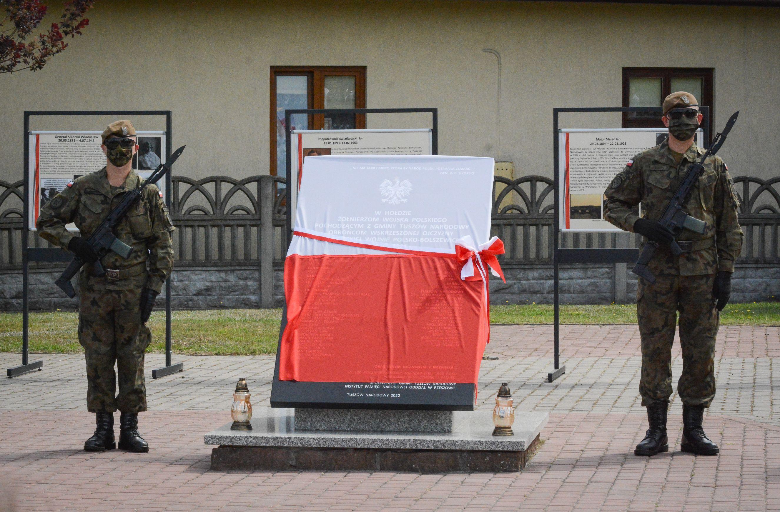 TUSZÓW NARODOWY: Obchody 100 rocznicy Bitwy Warszawskiej [FOTO, VIDEO] - Zdjęcie główne