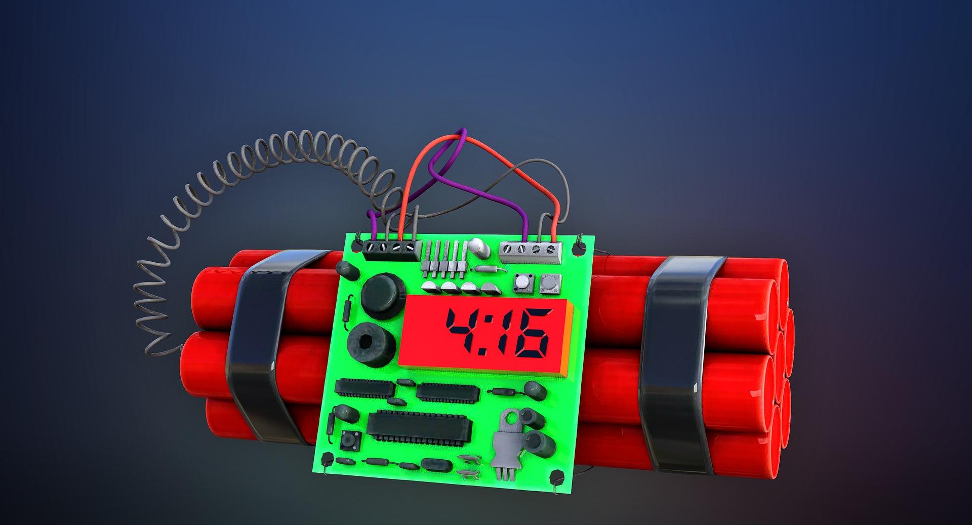 Seria alarmów bombowych w szkołach - Zdjęcie główne