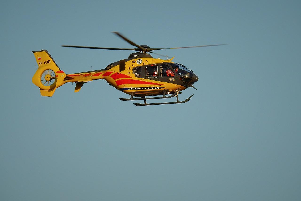 Podkarpacie. Helikopter LPR wyleciał do pomocy dziecku - Zdjęcie główne