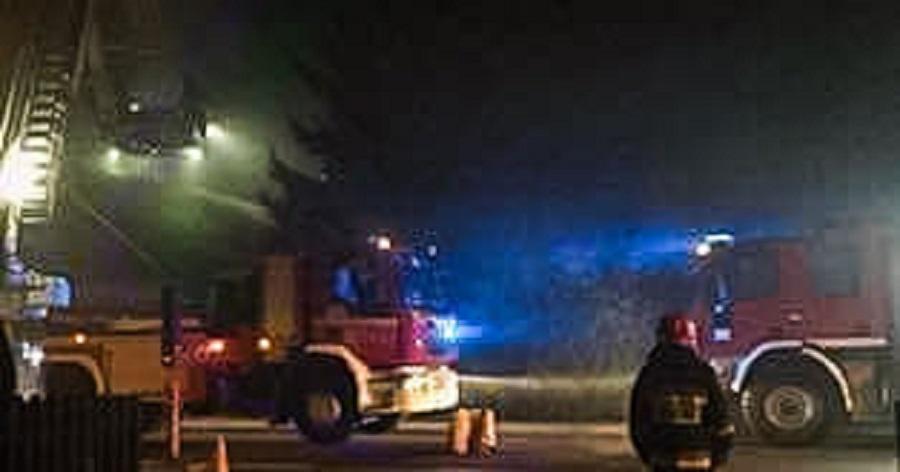 Pożar w Tuszowie Narodowym wywołał chwilowe utrudnienia na drodze powiatowej - Zdjęcie główne