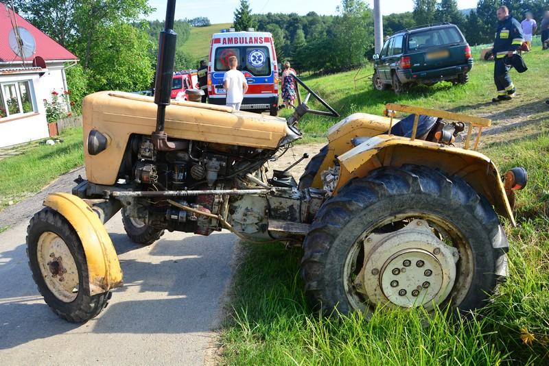 Z PODKARPACIA. Kolejna śmierć pod kołami traktora - Zdjęcie główne