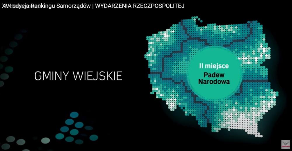 Ranking Rzeczpospolitej: Gmina Padew II miejsce w Polsce pod względem rozwoju i inwestycji!  - Zdjęcie główne