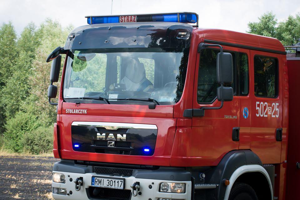 Strażacy gasili pożar w Woli Zdakowskiej [FOTO, VIDEO] - Zdjęcie główne