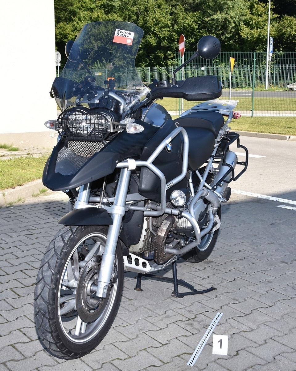 Na skradzionym motorze chciał przekroczyć granicę - Zdjęcie główne