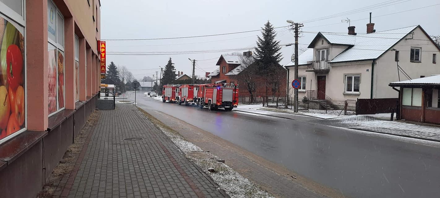 Pożar w Radomyślu Wielkim  - Zdjęcie główne