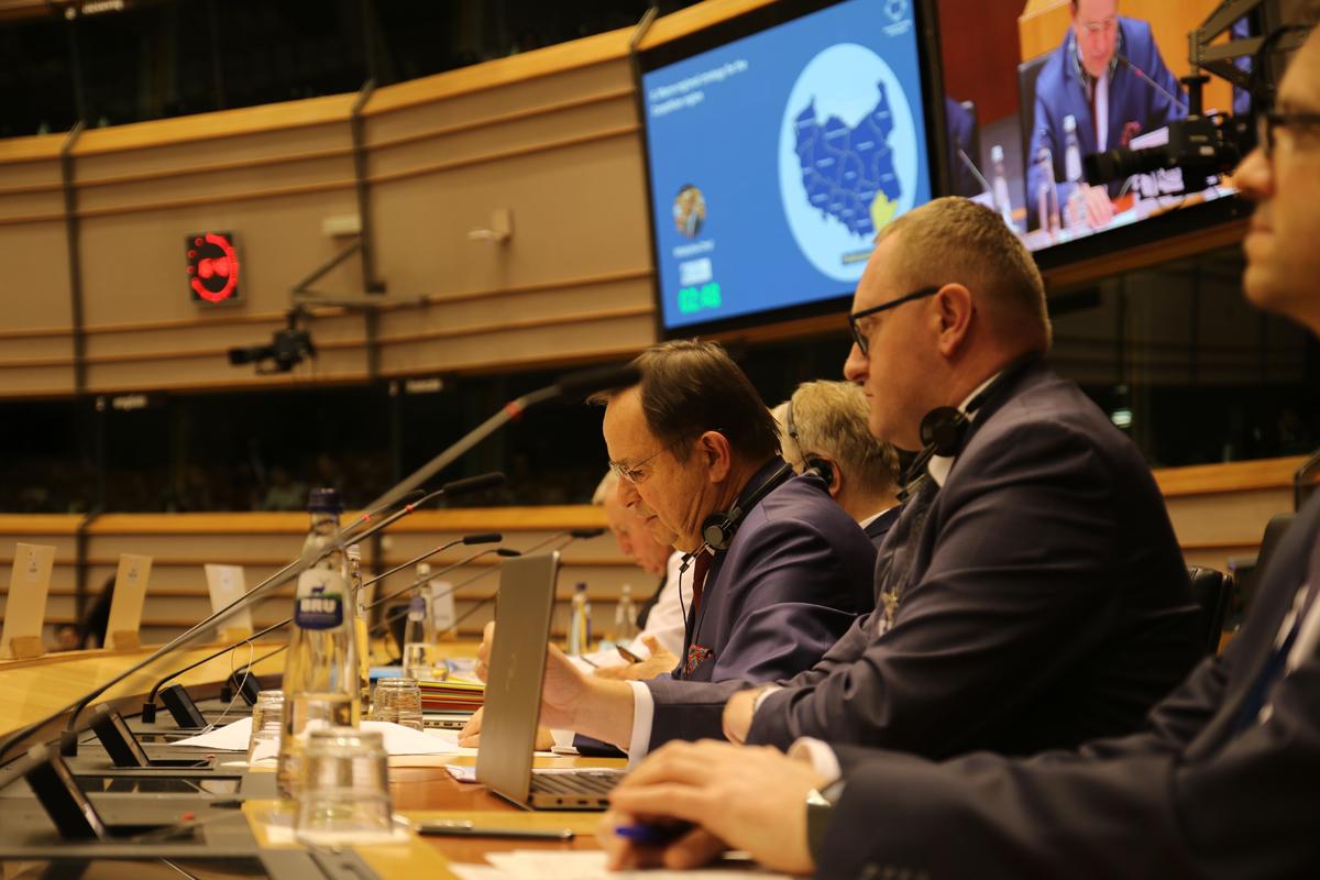 Komitet Regionów UE przyjął strategie Karpat Marszałka Ortyla [VIDEO] - Zdjęcie główne