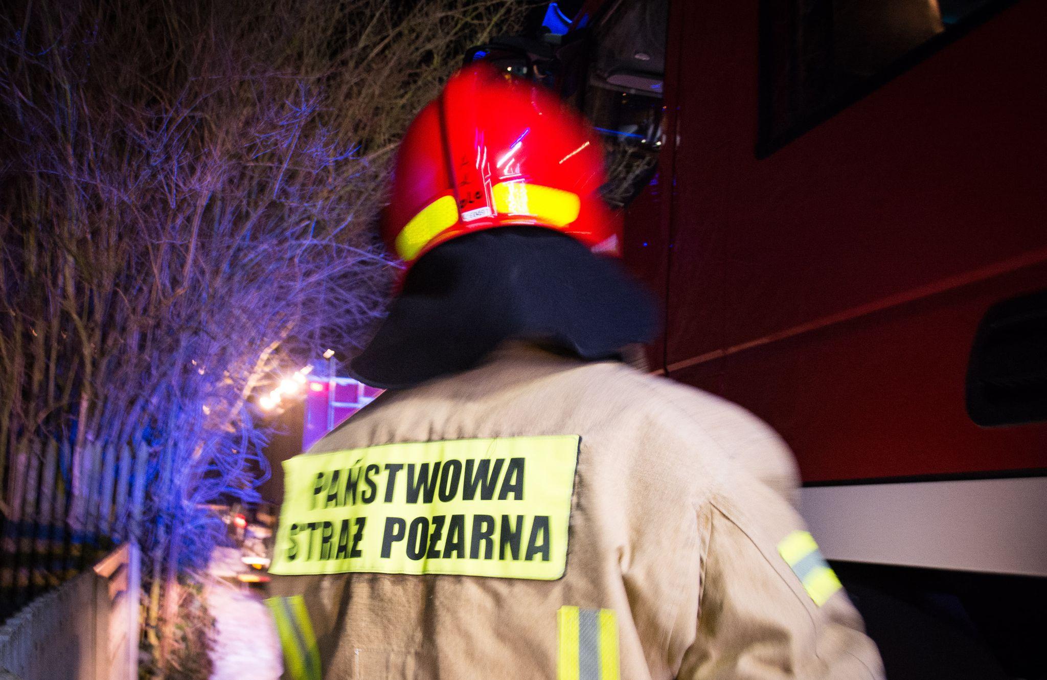 Pożar w zakładzie stolarskim. W akcji 6 zastępów straży pożarnej! - Zdjęcie główne