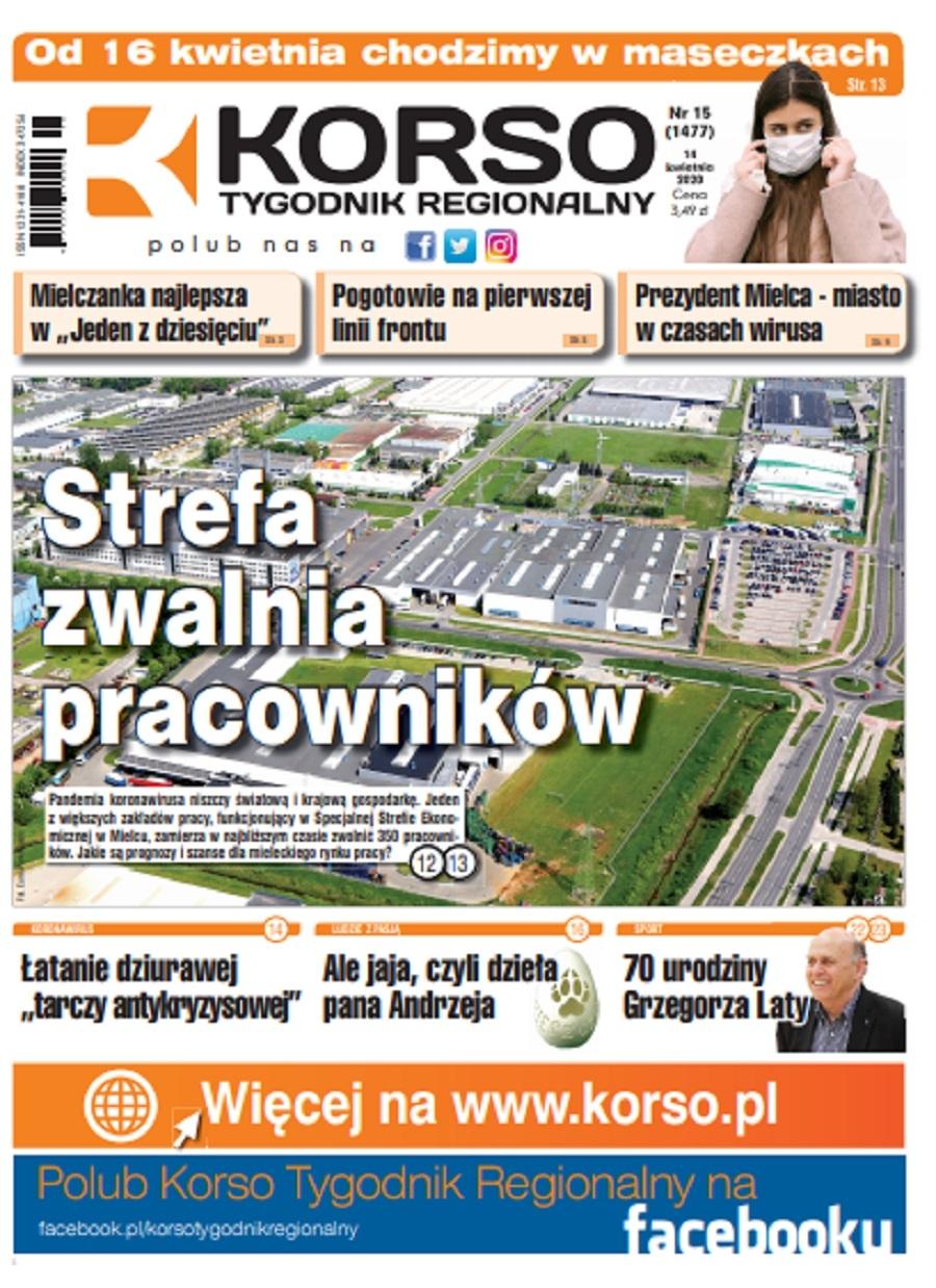 Tygodnik Regionalny KORSO nr 15/2020 - Zdjęcie główne