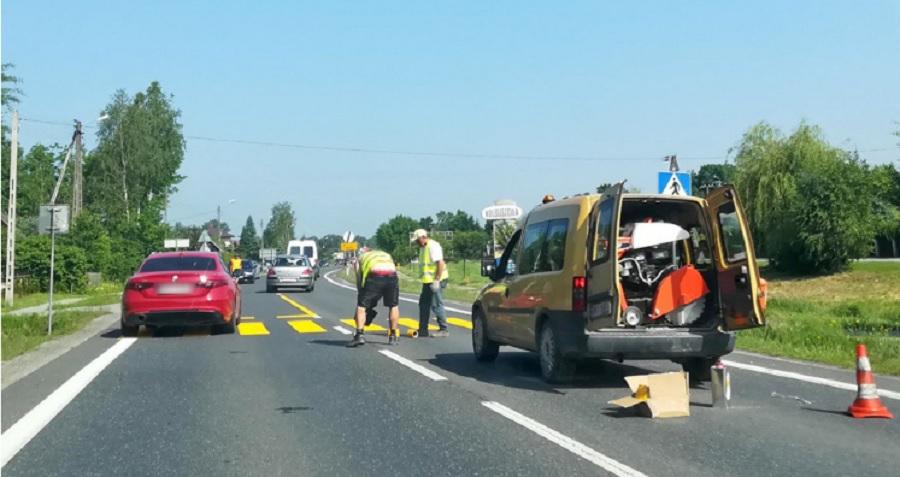 Spore utrudnienia dla kierowców. Ruch wahadłowy na DK9 w Kolbuszowej Górnej - Zdjęcie główne