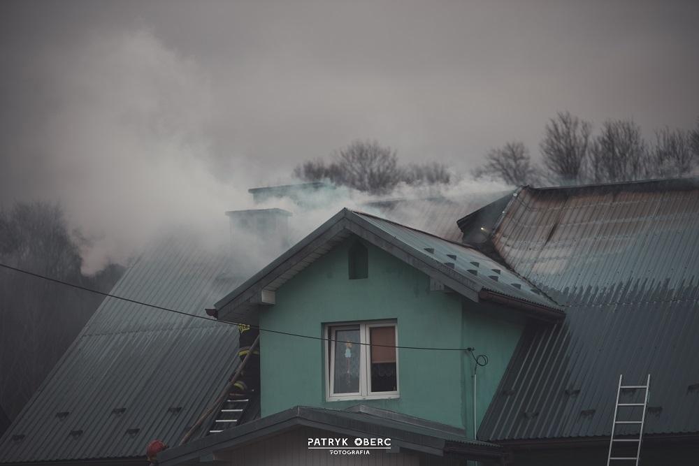 Z Podkarpacia. Pożar domu jednorodzinnego [FOTO, VIDEO] - Zdjęcie główne