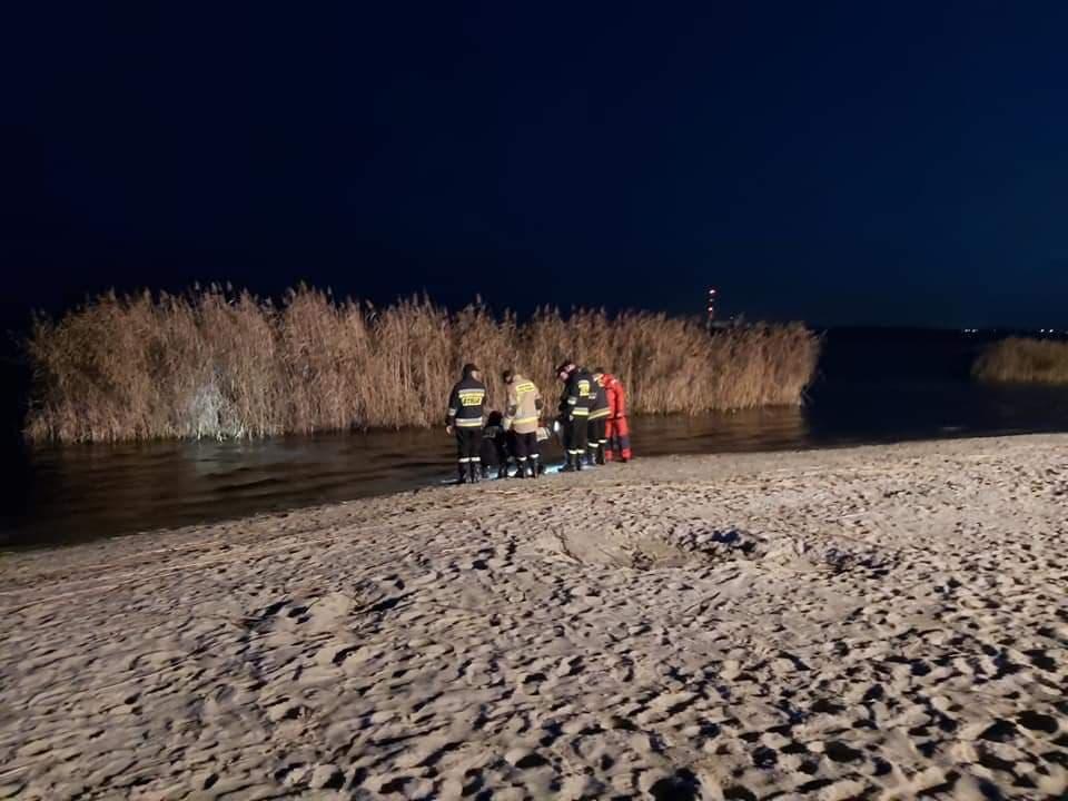 Z PODKARPACIA. Znamy przyczynę plamy na Jeziorze Tarnobrzeskim! - Zdjęcie główne