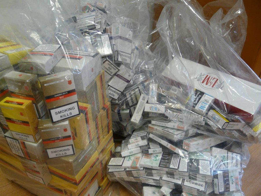 62-latek z 15 tysiącami papierosów - Zdjęcie główne