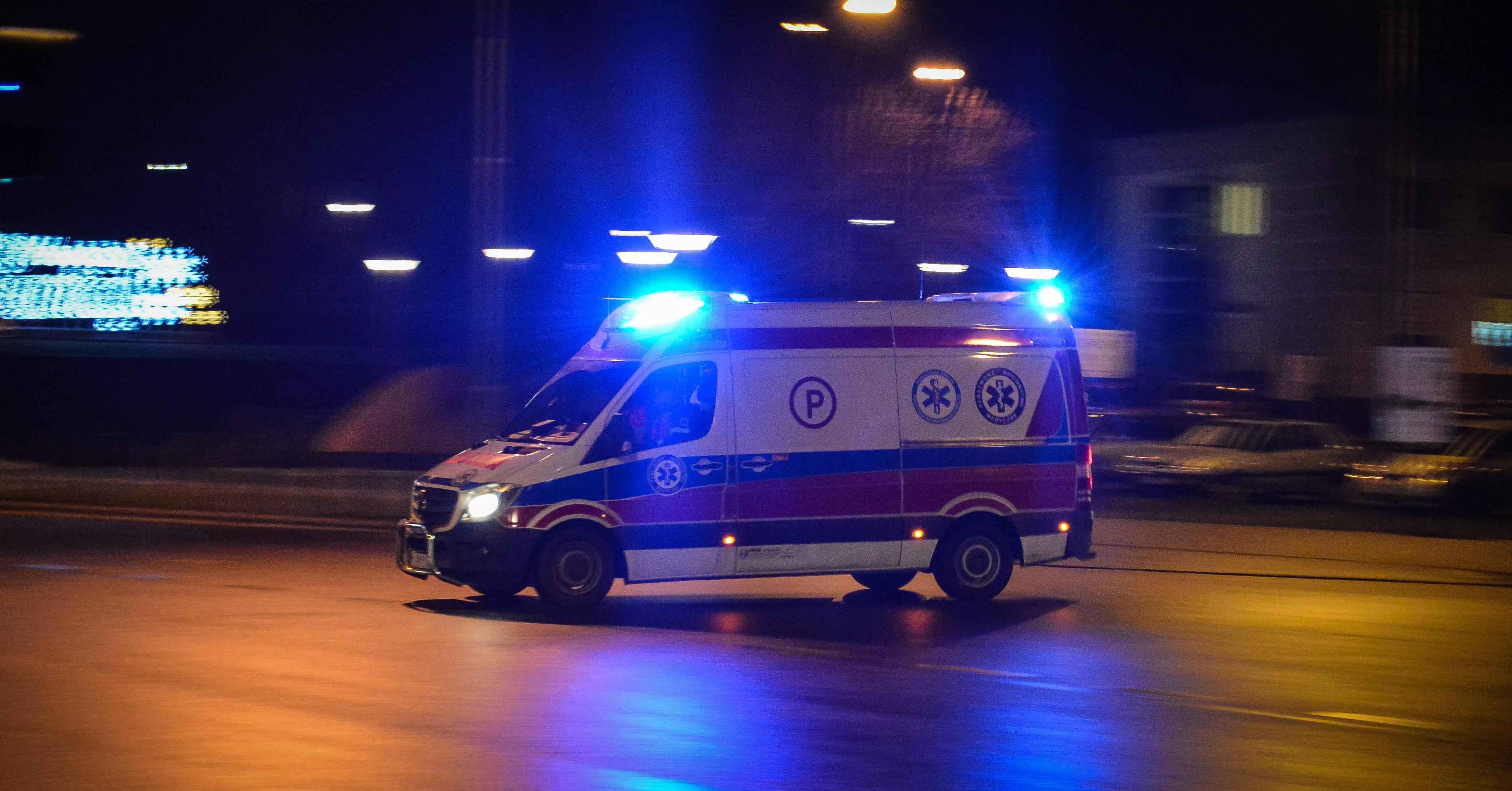 Wypadek. Droga Chorzelów - Trześń zablokowana! - Zdjęcie główne