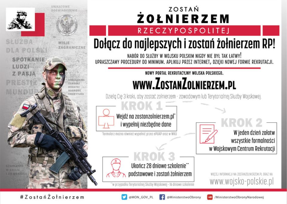 W 50 dni możesz zostać żołnierzem Wojska Polskiego - Zdjęcie główne