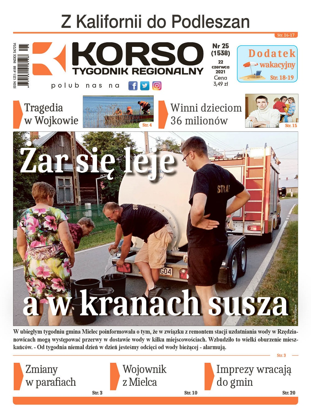 Tygodnik Regionalny KORSO nr 25/2021 - Zdjęcie główne