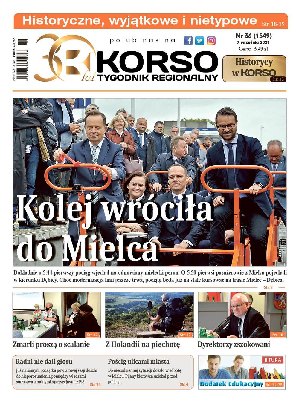 Tygodnik Regionalny KORSO nr 36/2021 - Zdjęcie główne