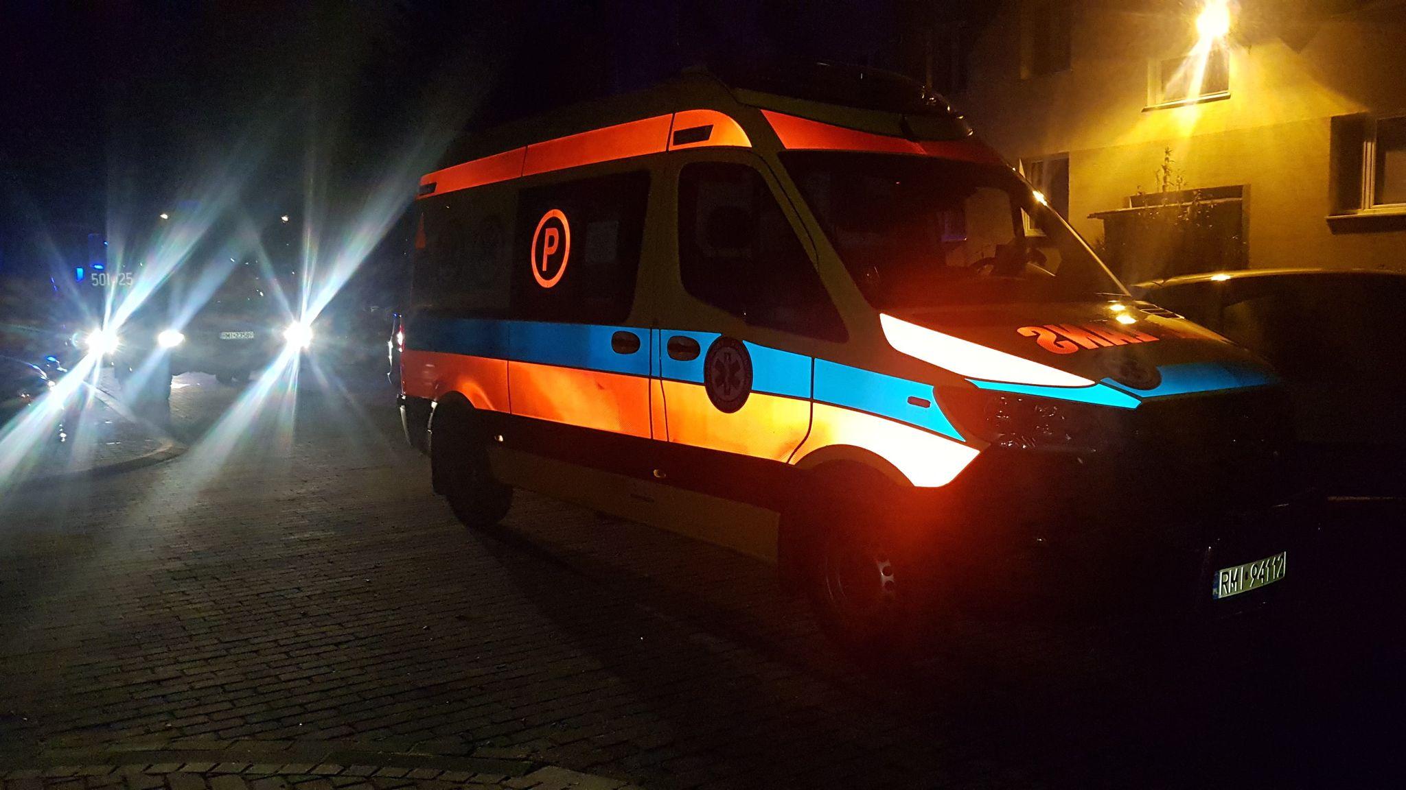 Interwencja służb przy ul. Kusocińskiego! - Zdjęcie główne